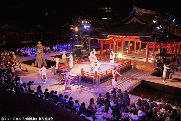 阿津賀志山異聞と幕末天狼傳に出演した11名の刀剣男士たちが初共演!