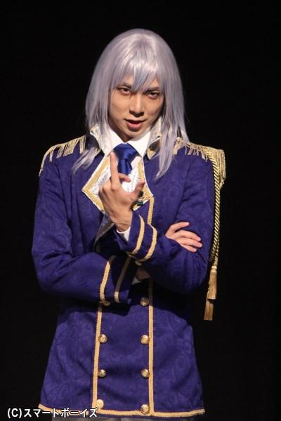 ローランズ王国の第二王子、エドワード・ローランズ役の橘 龍丸さん