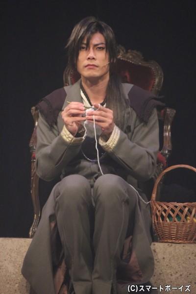 フォンヴォルテール卿グウェンダル役の兼崎健太郎さん