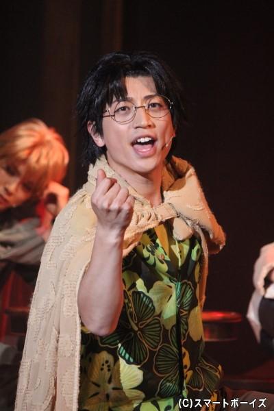 村田 健役の反橋宗一郎さん