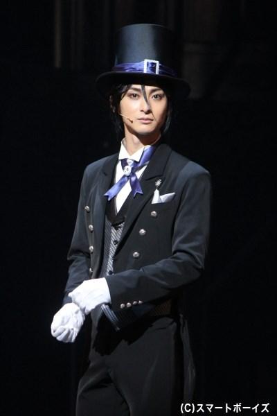 セバスチャン・ミカエリス役の古川雄大さん
