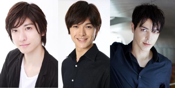 (左から)山本一慶さん、遊馬晃祐さん、汐崎アイルさん