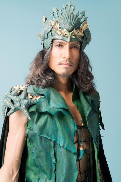 唐橋充さんas ポセイドン 海神。マリナの育ての親。最近老いてきたため、マリナに王位を譲りたいと思っている。