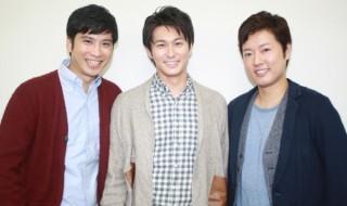 (左から)滝口幸広さん、三上真史さん、原田優一さん