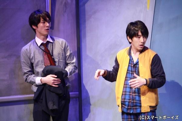 写真左から和田琢磨さん、川本成さん