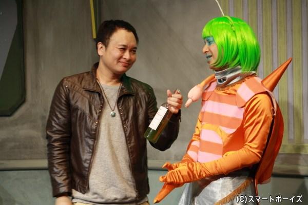 写真左からアイアム野田さん(鬼ヶ島)、平子悟さん