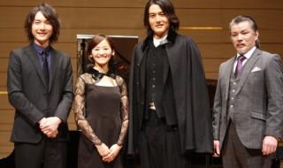 (左から)細貝圭さん、佃井皆美さん、蕨野友也さん、山本亨さん