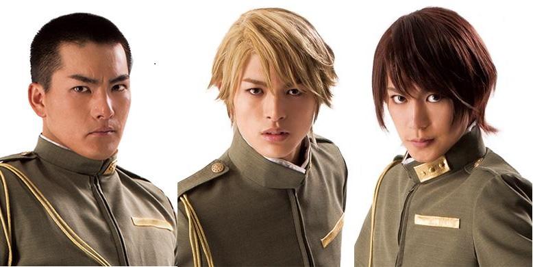 (左から)脇崎智史さん、遊馬晃祐さん、阿部快征さん