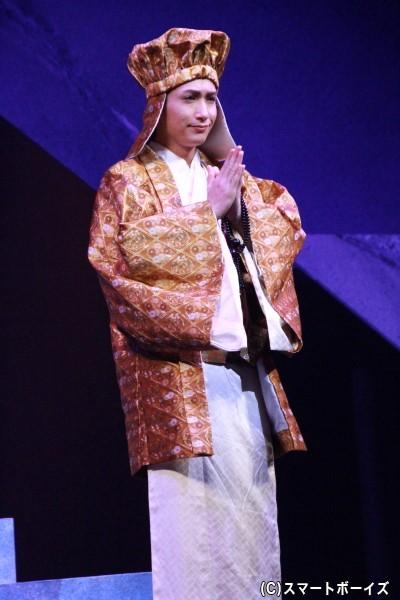 覚慶役の井深克彦さん