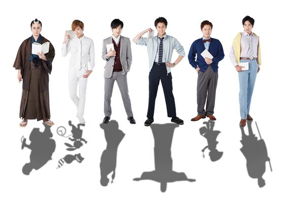 (写真左より) 中村龍介さん、滝口幸広さん、木ノ本嶺浩さん、三上真史さん、原田優一さん、滝口幸広さん