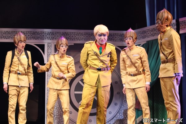 タマネギ部隊はパタリロ殿下を守りきることが出来るのか――