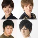 (左上から時計回りに)遊馬晃祐さん、安里勇哉さん、阿部快征さん、脇崎智史さん 脇崎智史さん