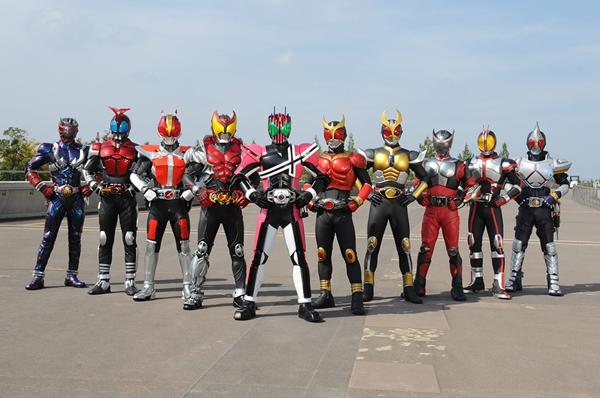 2009年1月~8月に放送された仮面ライダーディケイド