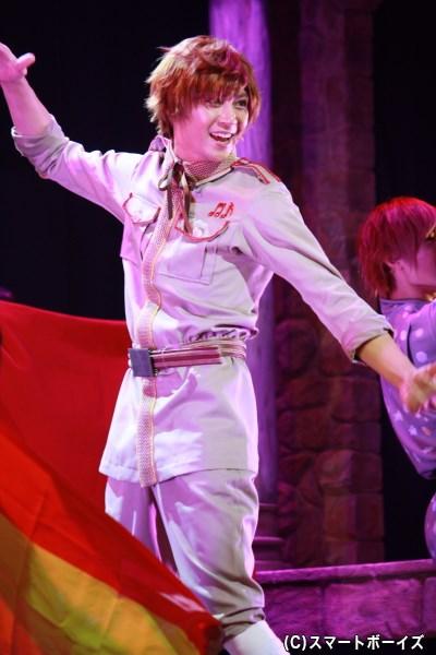 山田さんは実際にスペインクォーターでもある国際派!