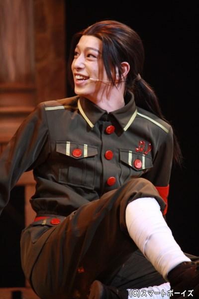 シリーズ初演作から引き続き、中国役で登場の杉江大志さん