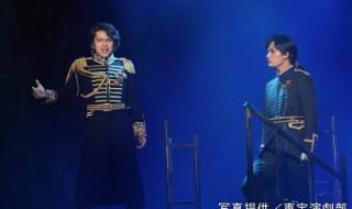 舞台写真が到着! (左から)ビクター役の中川晃教さん、アンリ役の加藤和樹さん