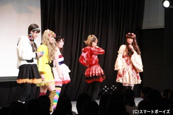 4人の女装が一度に見られるのはトキイベだけ!!