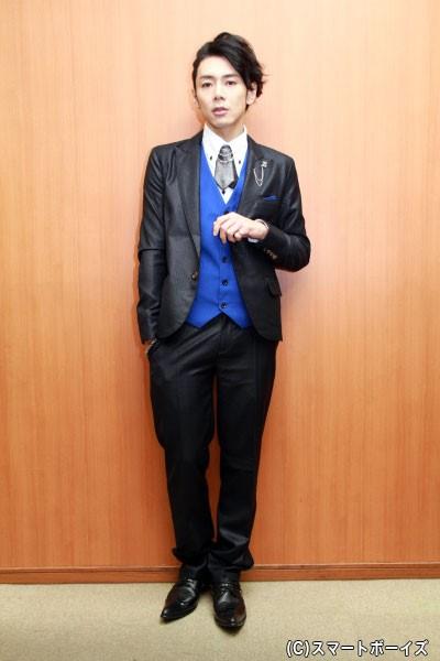 """富田さん演じる役は、""""天使のホスト""""との異名をとるクラブの元ナンバー1ホスト"""