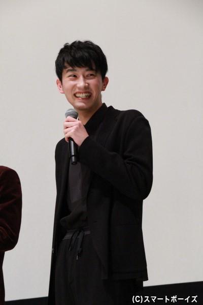 ソウ役の杉野遥亮さん