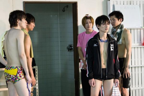 イケメン俳優が競泳男子に! 第一話劇中カットが公開