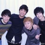 (写真左より)佐久間雄生さん、荒田至法さん、後藤健流さん、本田礼生さん