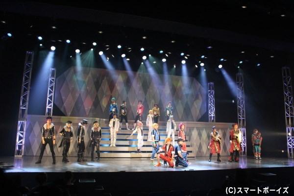 6ユニット・総勢22名の魅力的なアイドルたちがライブで盛り上げます♪