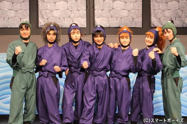 (写真左より)海老澤健次さん、栗原大河さん、佐藤智広さん、山木透さん、吉田翔吾さん、久下恭平さん、北村健人さん