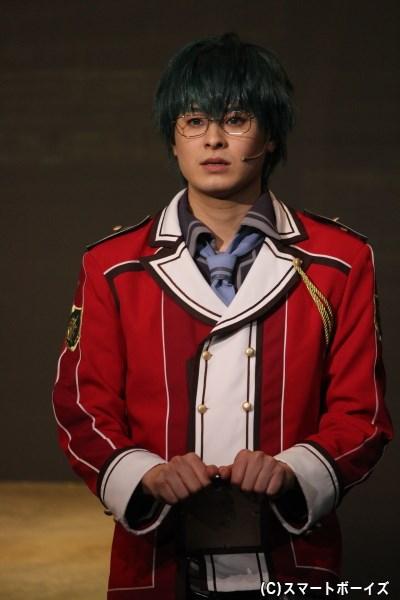 マキアス・レーグニッツ役の畠山遼さん