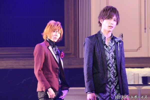 ドラマ・舞台の全作品に出演している久保田さん(写真右)と、舞台版2作目から登場の染谷さん
