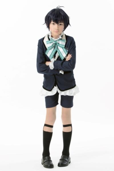 仲良し4人組で唯一、年相応な見た目の小学5年生・野口一男役のシェーンさん