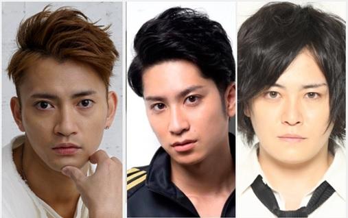 (左から)中河内雅貴さん、滝口幸広さん、宮下雄也さん