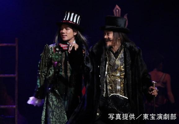 (左から)柿澤勇人さん、相島一之さん