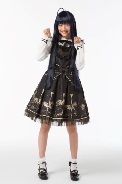 ヒロインの女子高生、二階堂夏歩役の奥田こころさん