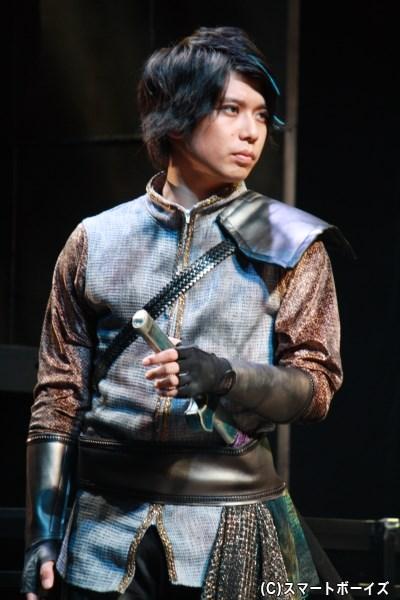 賢者の末裔・秘色役の柏木佑介さん