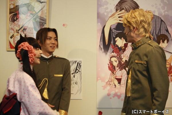 お約束のように安里さんを選んで、遊馬さんを嫉妬させる野田さん(笑)