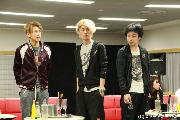 「JEWEL」ナンバー1の藍(林さん)とナンバー2の翠斗(鈴木勝吾さん)による激しい「ナンバー1争い」にも注目!