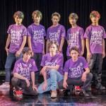 イベントに登場した、13名のSpaceCraft Men's Crew!たち