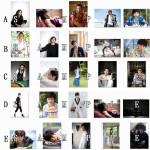L版ブロマイド5パターン