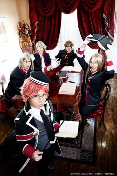植田さんらがハイネ&4王子に扮したキャスト版ビジュアルも同時公開に!