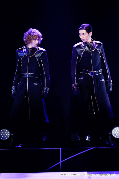 (左から)加々美いつき役の杉江大志さん有賀涼役の井澤勇貴さん