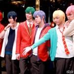 IMG_5975 6人それぞれの着こなしが見られる、劇中衣装の制服姿で登場!
