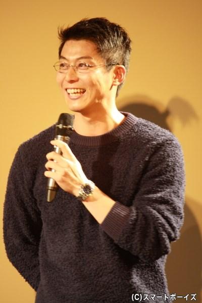 マスター役の上田悠介さん