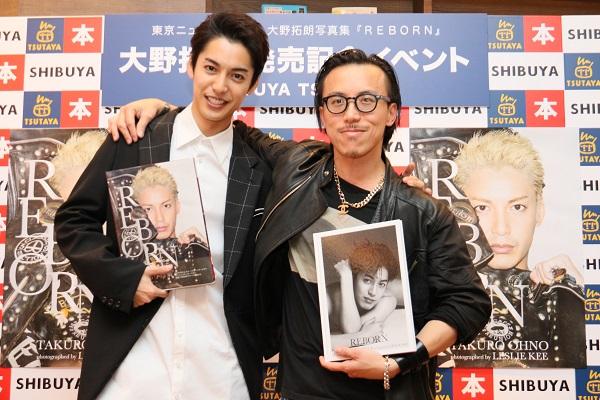 大野拓朗さんと写真家のレスリー・キーさんが揃って登壇しました。