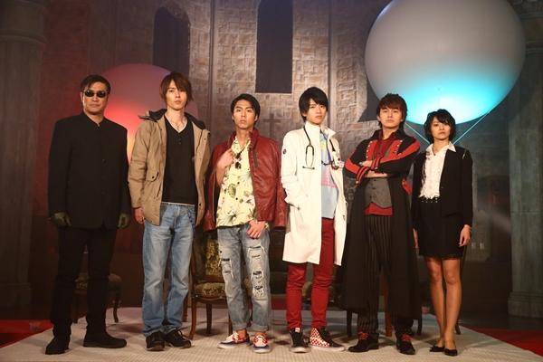 (左より)樋口隆則さん、椿隆之さん、小野塚勇人さん、飯島寛騎さん、小林豊さん、佃井皆美さん