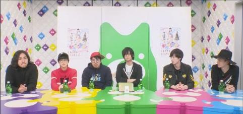 左から郷本直也さん、ゆうたろうさん、川尻恵太さん、荒牧慶彦さん、田中涼星さん、小野健斗さん