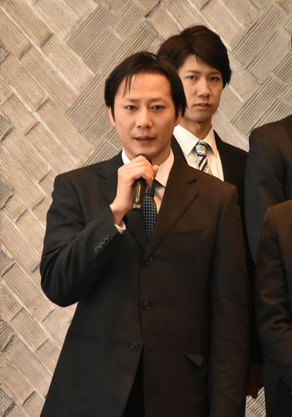 マルシャン役(Noirチーム)の岩﨑大さん