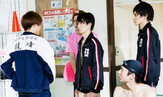 """""""イケメン×青春×競泳""""で話題のドラマ『男水!』、好評放送中!"""