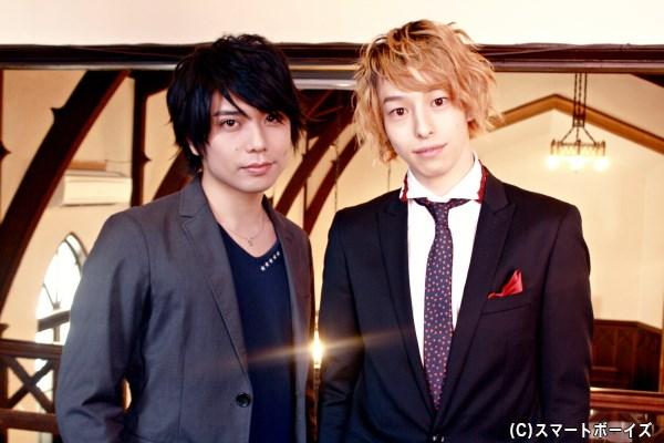 (写真左から)吸血樹(ヴァンパイア)の双子を演じる、柏木佑介さん&杉江大志さんを直撃