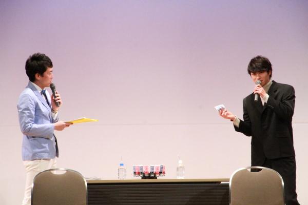 せとさんとの弾んだトークに木村さんも終始ニッコリ