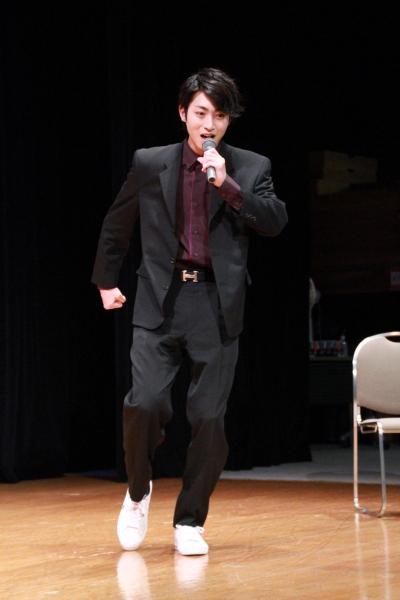 「来年『福男』にチャレンジしたい」と語っていた木村さん